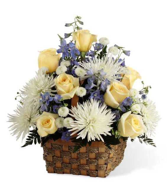 The Divine Florals Basket - Deluxe