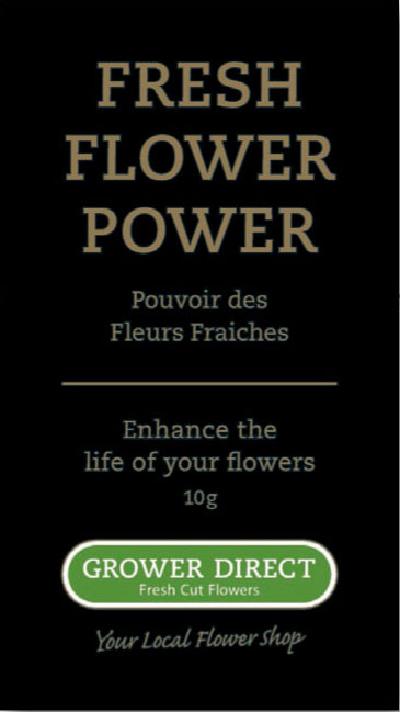 Grower Direct Flower Power - The right food for the longevity of your flowers!