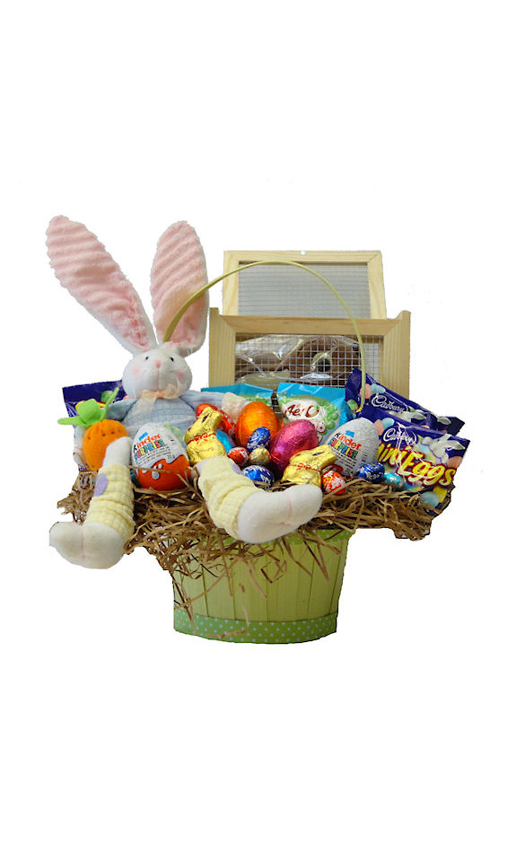Baby Gift Baskets Thunder Bay : Grower direct premium gift baskets easter bunny surprise