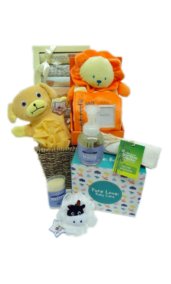 Baby Gift Baskets Thunder Bay : Grower direct premium gift baskets pure baby love