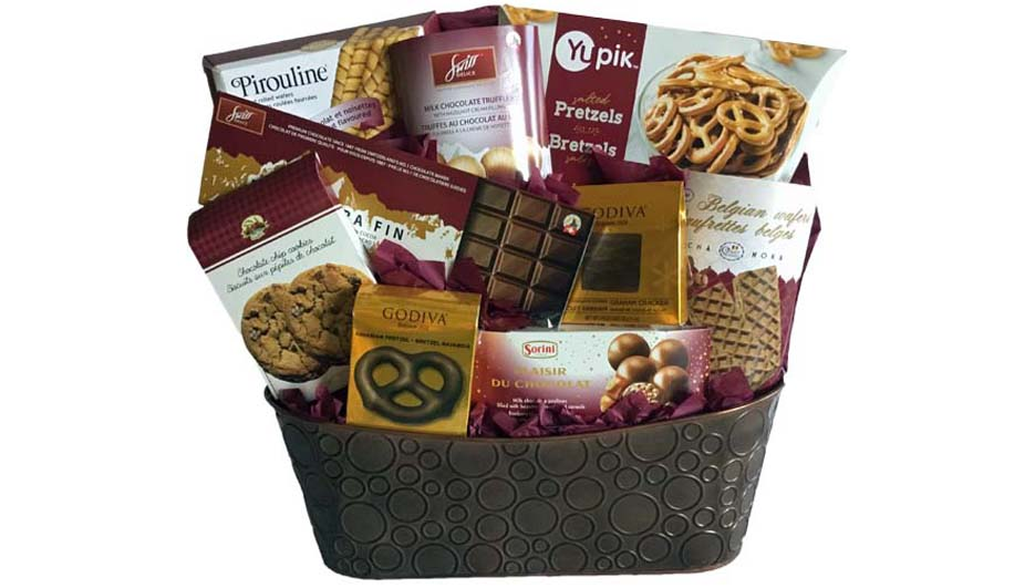 Grower Direct - Premium Gift Baskets - Gift baskets for every person & every occasion - Gift Baskets are delivered Canada Wide